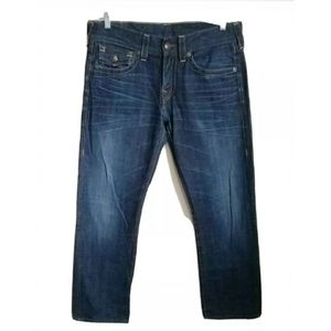 TRUE RELIGION Mens RICKY Relaxed Straight W30 L29